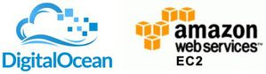DigitalOcean and Amazon EC2 Logo